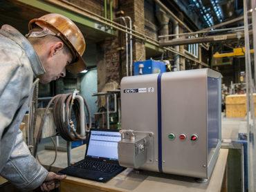 Metallanalysen in unterschiedlichen Stufen der Elektrostahlherstellung