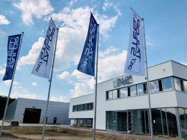 247TailorSteel<br/>Produktion im neuen Werk in Hilden hat begonnen